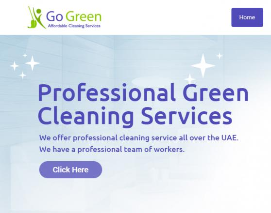 Go Green Services  offer