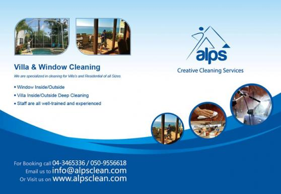 Alps Creative Cleaning Services offer