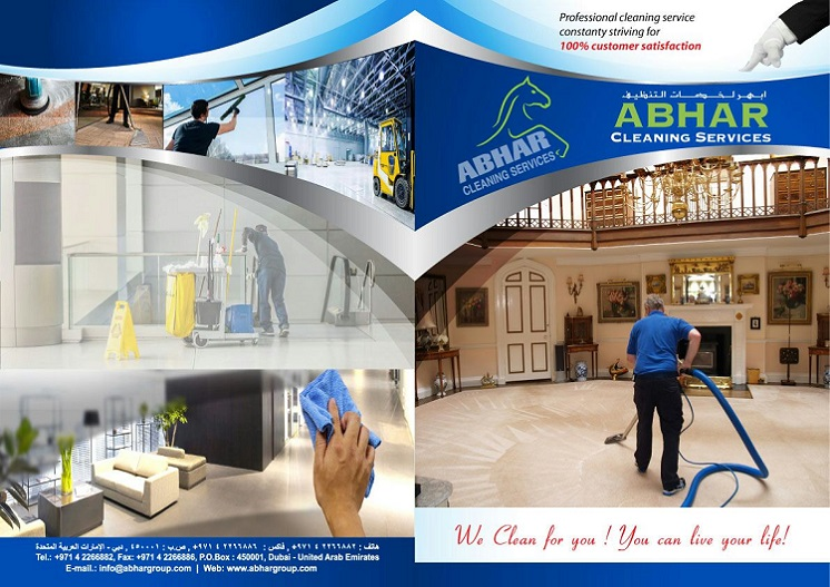 Abhar Cleaning Services provides Residential, Commercial & Industrial Cleaning Services, Institutional & Healthcare Cleaning Services, Carpet & Sofa Shampooing Services, One time cleaning Services, Villa cleaning services, Annual Maintenance Contract, External Glass Cleaning Services, Construction Clean-up Services, Glue Removal Services.