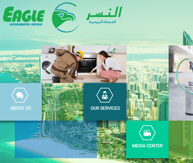 Eagle take its pride in providing the top quality standards for Pest Control and Cleaning services in the region of Abu Dhabi and Al Ain