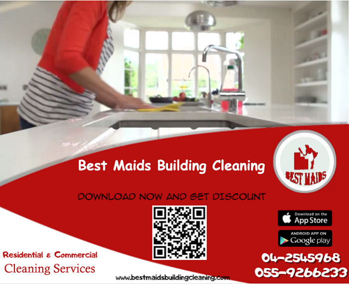 Best Maids Building Cleaning - We provide all kinds of cleaning for houses, offices, schools and hospitals, we also offer baby sitting, party service and pets care.