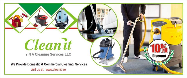 Clean It - We provides Domestic & Commercial cleaning services.