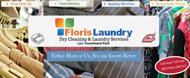 Floris Laundry is a full service laundry and dry cleaning company located in Dubai Investment Park. We provide a wide range of professional cleaning services in Dubai.
