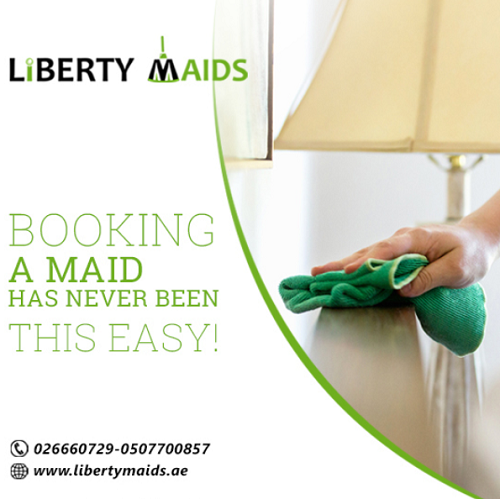 Liberty Maids offer