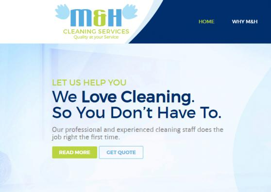 M&H Cleaning Services offer