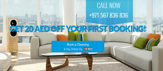 First Call Cleaning offer