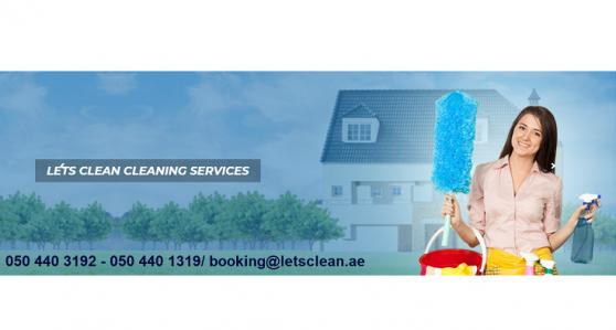 Let's Clean Cleaning Services offer