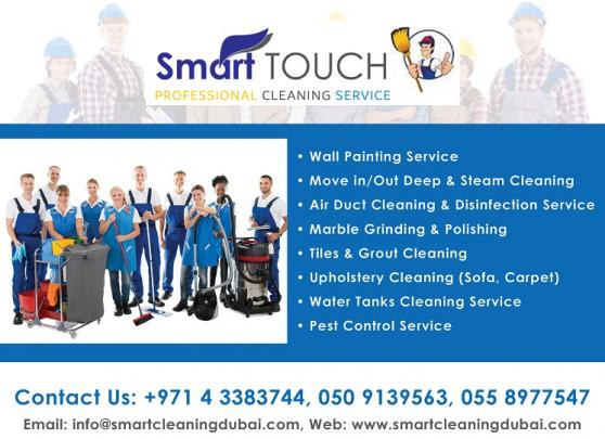 Smart Touch Cleaning Services offer