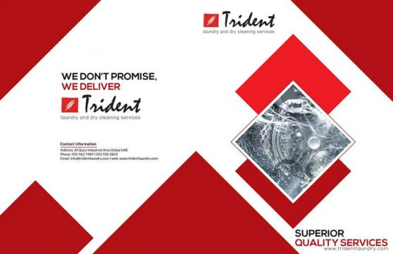 Trident Laundry & Dry Cleaning Services offer