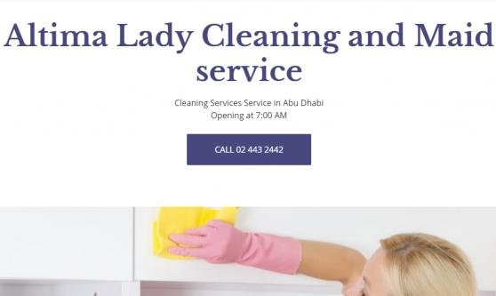 Altima Lady Cleaning and Maid service offer