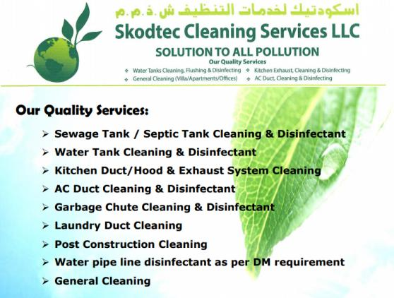 Skodtec Cleaning Service offer