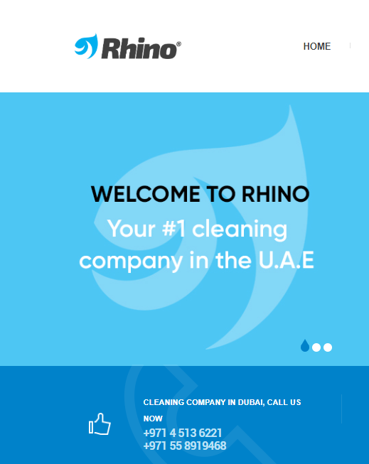 Rhino Cleaning  offer